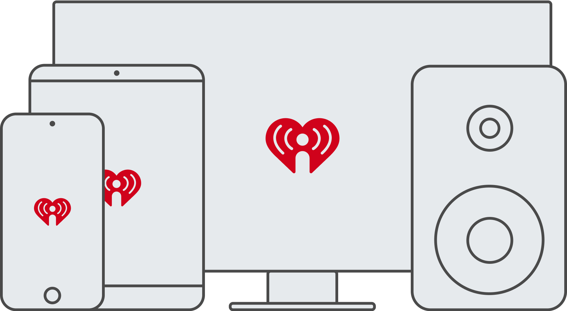 Bring iHeartRadio with you anywhere